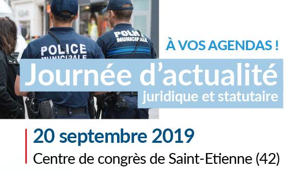 Salon Sécurité ANCTS, le 20 septembre 2019 à Saint Étienne (42)